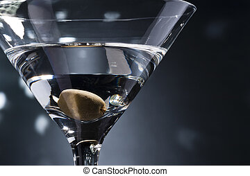 Martinis on the dance floor with nice illumination
