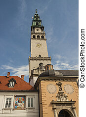Tower of sanctuary in Jasna Gora - Czestochowa, Poland.