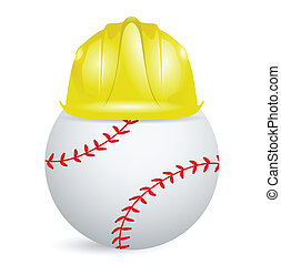 baseball training. under construction illustration design...