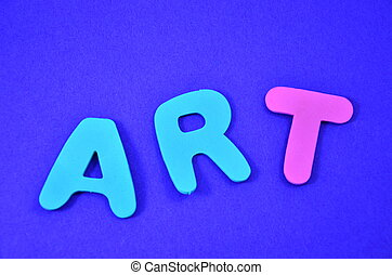 WORD ART ON A ABSTRACT BACKGROUND