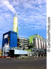 Waste incineration plant - Modern waste and industrial...