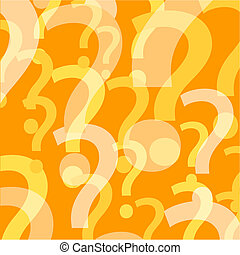 Question mark background - Background of question marks