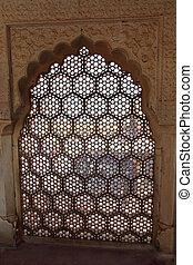 ornament lattice window