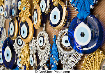 Turkish evil eye beads