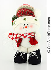 Christmas Snowman Doll - Cute Christmas snowman doll...