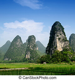 Pastoral scenery in Guilin,China