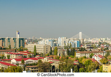 Bucharest View - Bucharest City In Romania Viewed From...