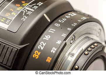 Aperture Selection On A Modern Camera Lens