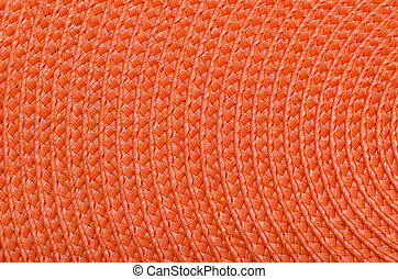 Orange Raffia - Very Detailed Orange Raffia Texture