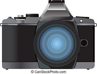 Digital camera vector illustration