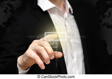 Small touch screen