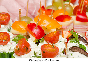Catering Food - Closeup Photo Of Delicious Catering Food