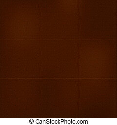 Brown Leather Background, Texture. Vector Illustration