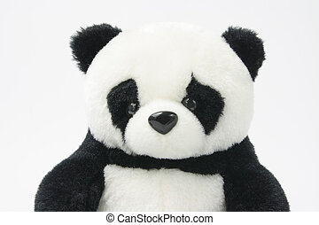 Soft Toy Panda - Close Up of Soft Toy Panda