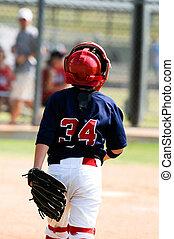 Little league baseball catcher - Youth baseball catcher...