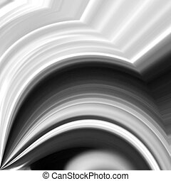 Black White Abstract Background