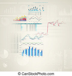 Marketing high tech background - Abstract high tech...