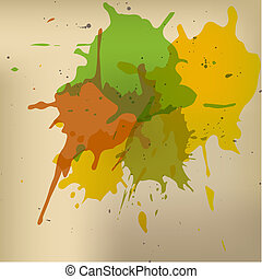 Grunge background Vector illustration - Grunge background...