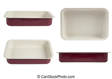 oven tray, nonstick coating roasting pan - New red nonstick...