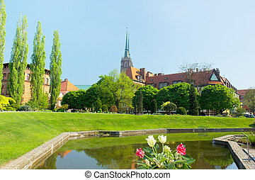 The Church of the Holy Cross , Wroclaw, Poland - The Church...