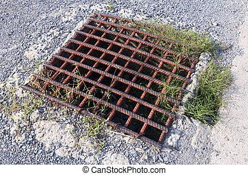 Rebar Steel grating drain cover