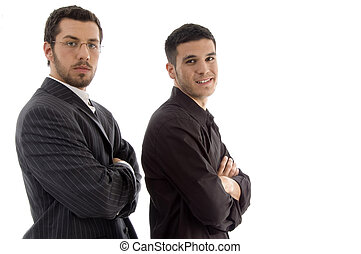 portrait of successful young executives