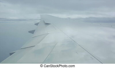 Through the clouds