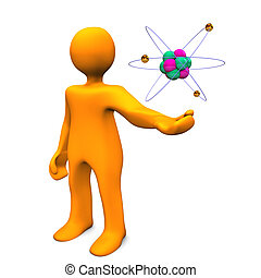 Manikin With Atom