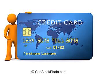 Manikin Credit Card