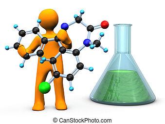 molécula, químico