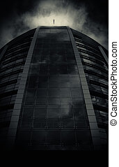 post apocalyptic cityscape - abstract post apocalyptic...