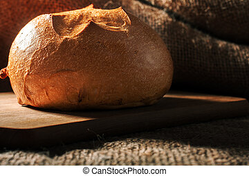 Loaf of wheat bread