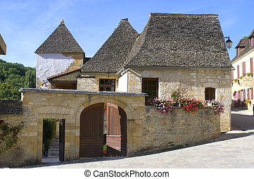 old village of Saint-Amand-of-Coly