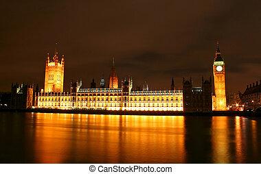 Big Ben at Night - Big Ben at London, UK during Night