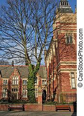 University Campus - University campus area in the United...
