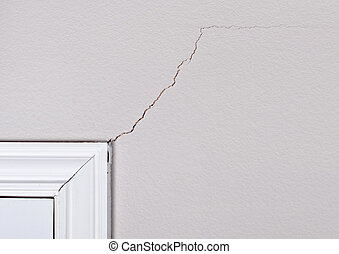 Cracks on the wall - Foundation problem causing sheetrock...