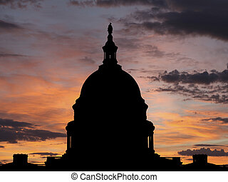 United States Capitol Sunrise