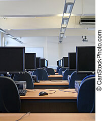 Computer Cluster Lab at the University