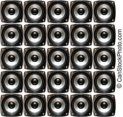 Array of speakers - An Array of small speakers