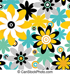 Floral seamless pattern. Seamless pattern can be used for...
