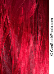 tulle background - abstract shiny tulle fabric studio shot