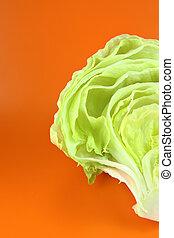 Green Iceberg lettuce - Fresh Green Iceberg lettuce on...