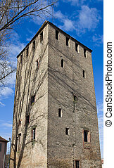 Frenchman Tower (1230). Strasbourg, France - Frenchman Tower...