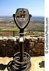 See Rock City 45 - Viewfinder overlooking Chattanooga
