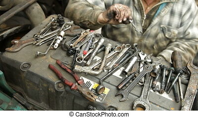 Auto Mechanic Repairing Diesel - Auto mechanic or driver...
