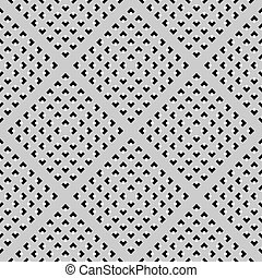 Seamless checked texture. - Seamless geometric perforated...