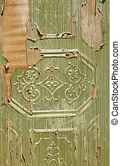 old wooden door texture detail