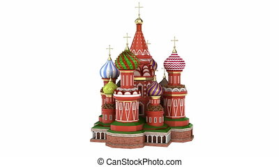 Cathedral , Moscow - Cathedral on the Red Square in Moscow,...