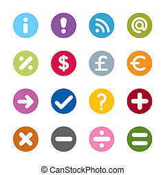 Modern web icons - Set of modern web universal icons. 16...