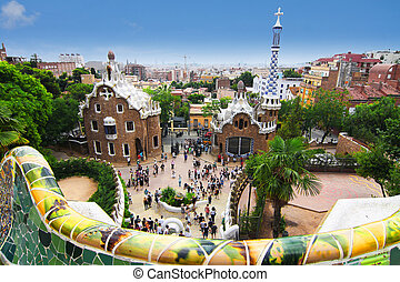 Park Guell - barcellona, spain